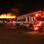 East Farmingdale Fire Co. Working General Alarm Old Fairchild Republic Property on Conklin St. 5-26-15