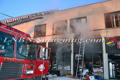 Freeport F.D. Building Fire 9 East Merrick Road 2-17-14