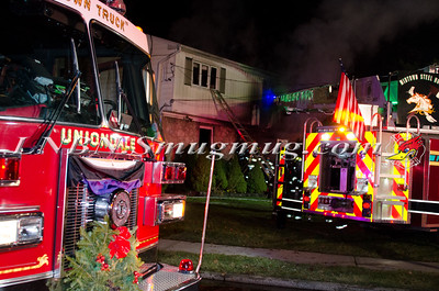 Uniondale F.D. House Fire 867 Smith Street 12-15-14